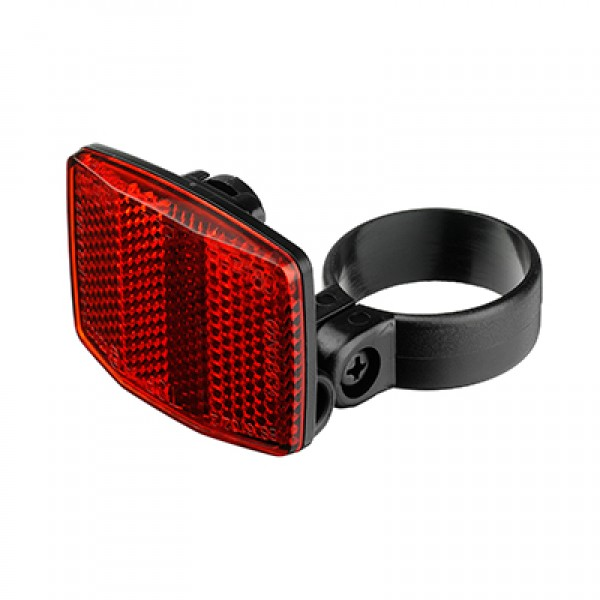 Shop Light With Reflector: Seat Post Reflector (RED EU/USA)