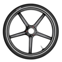 PitstopWheel - Gloss Black (Includes Tube and Tyre)