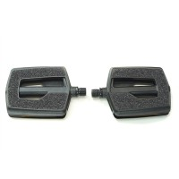 G3 Pedals - Black Nylon, Sand paper grip, sealed bearing.